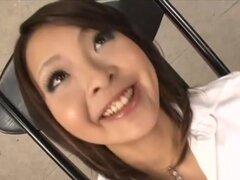 Reina Mizuki en perra japonesa más obscena. Sin censura la acción de Barekback contenido con Reina Mizuki, así como investigación de labios del coño y hasta creampie (nakadashi)!