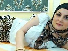 Árabe-caliente chica SEXY en HIJAB