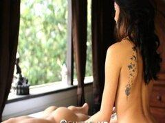 HD - fantasía HD Sexy asiática Jayden Lee da masajes de aceite sensuales