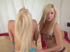 Apple gemelos a hermanas gemelas lesbianas