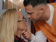 After pussy licking Brandi Love wants to jump on a friend's pecker - Seth Gamble,Brandi Love